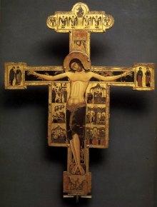 crucifixion - maestro bizantino del crocifisso di Pisa